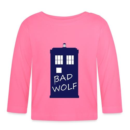 Bad Wolf Tardis - T-shirt manches longues Bébé