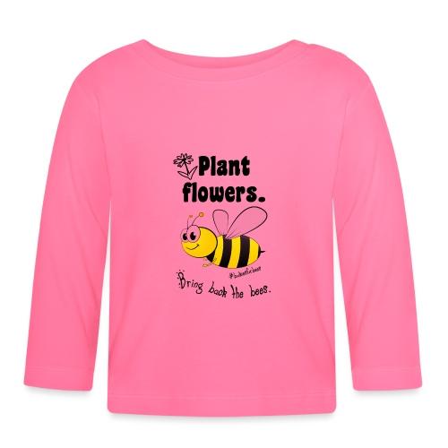 Bees8-1 Bringt die Bienen zurück! | Bookrebels - Baby Long Sleeve T-Shirt