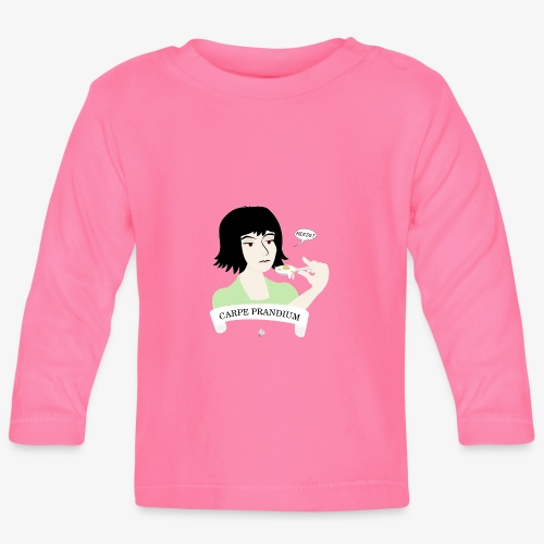Carpe Prandium - Långärmad T-shirt baby