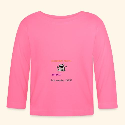 Hunde Knuddeln - Baby Long Sleeve T-Shirt