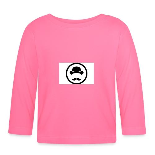 Bigote Logo La Trompa - Camiseta manga larga bebé