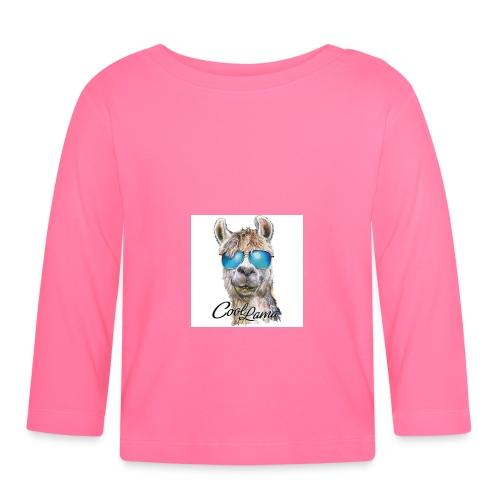 Cool Lama - Baby Langarmshirt