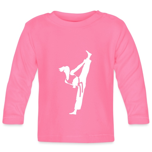 Female martial artist - Baby Long Sleeve T-Shirt