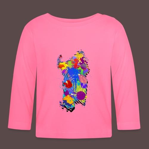 Sardegna Impronta Digitale - Maglietta a manica lunga per bambini