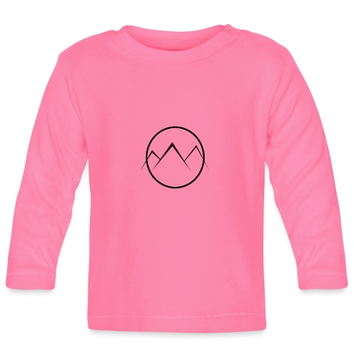 World of Mountains - Baby Long Sleeve T-Shirt