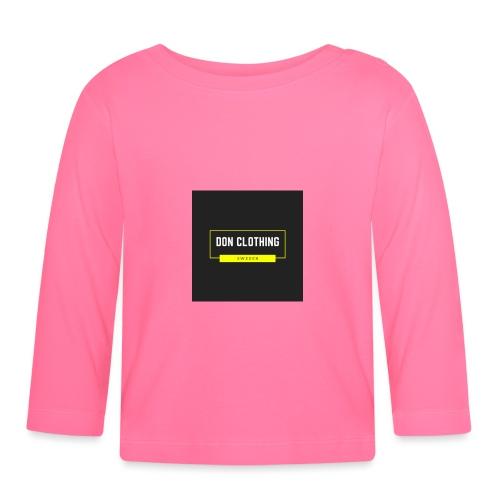 Don kläder - Långärmad T-shirt baby