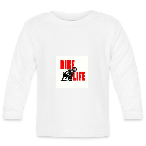KEEP IT BIKELIFE - Baby Long Sleeve T-Shirt