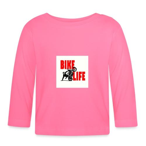KEEP IT BIKELIFE - Baby Long Sleeve T-Shirt