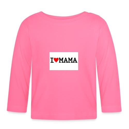 i love mama - Långärmad T-shirt baby