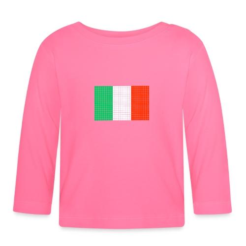 italian flag - Maglietta a manica lunga per bambini