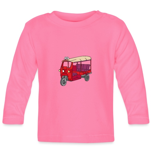 Rote Autorikscha, Tuk-tuk - Baby Langarmshirt