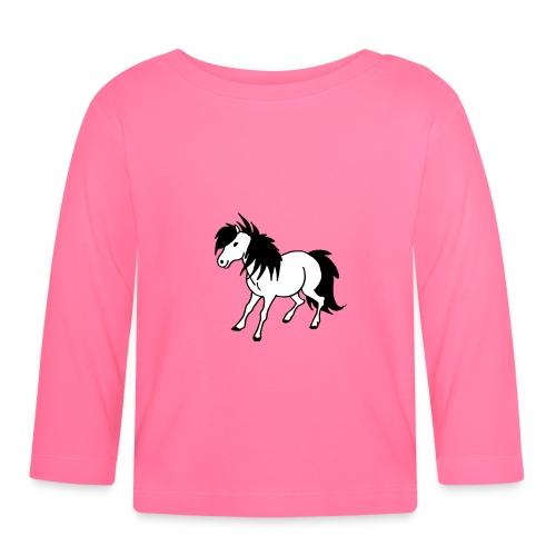Poney - T-shirt manches longues Bébé