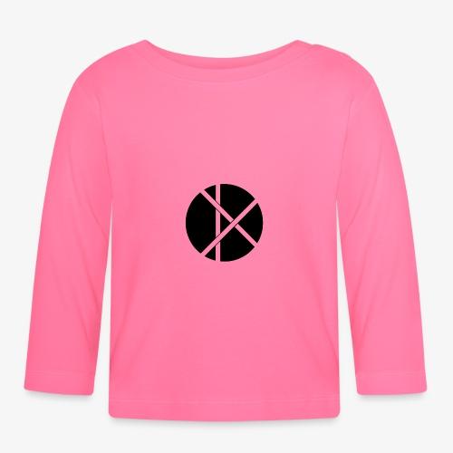 Don Logo - musta - Vauvan pitkähihainen paita