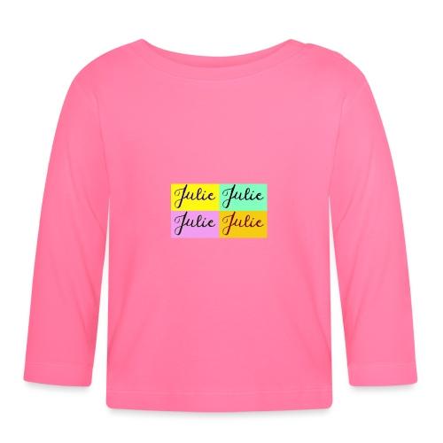 Julie Pop art - T-shirt manches longues Bébé