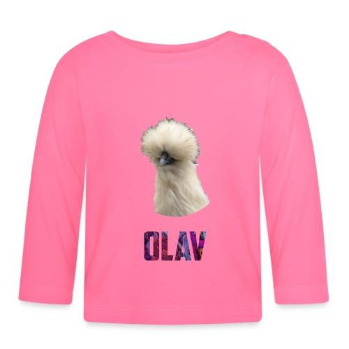 Olav 2 - Langarmet baby-T-skjorte