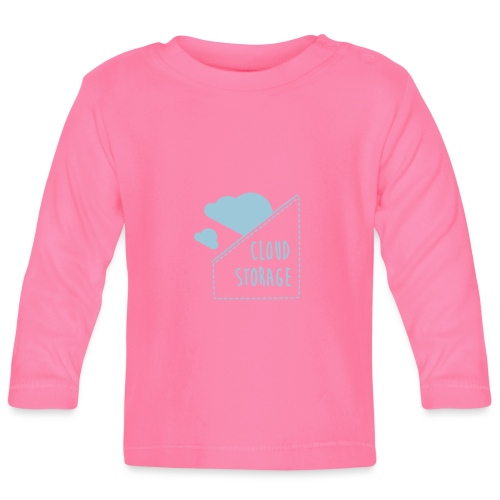 Cloud Storage - Baby Langarmshirt