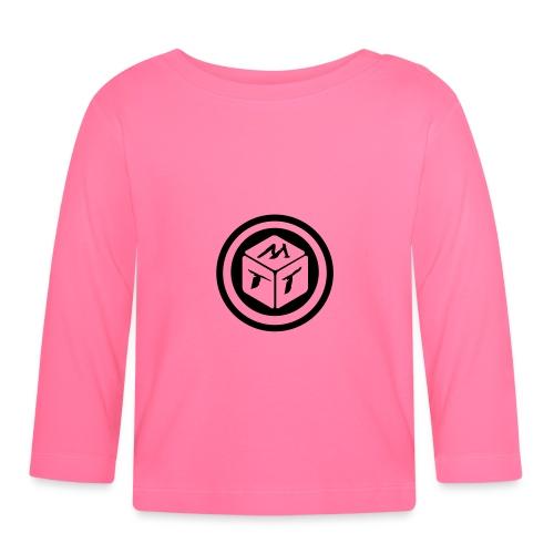 mb logo klein - Baby Langarmshirt