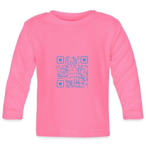 QR Maidsafe.net - Baby Long Sleeve T-Shirt