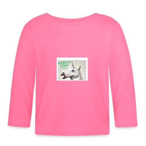 haest mot folkgrupp - Långärmad T-shirt baby