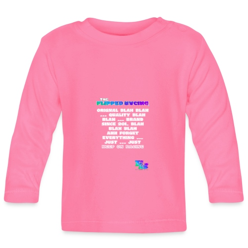 Flipped Racing, Blah Blah Blah V2 - Baby Long Sleeve T-Shirt