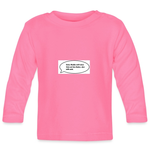 deine-mutter-witze-0 - Baby Long Sleeve T-Shirt