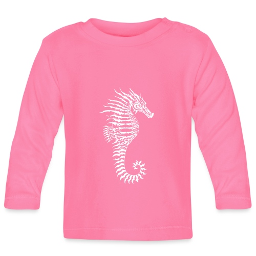 Alien Seahorse Invasion - Baby Long Sleeve T-Shirt