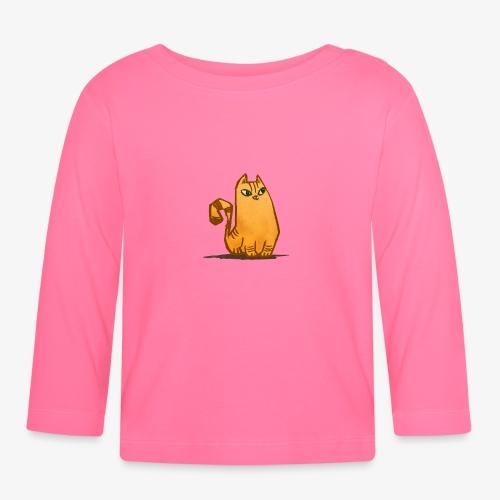 Katt - Långärmad T-shirt baby