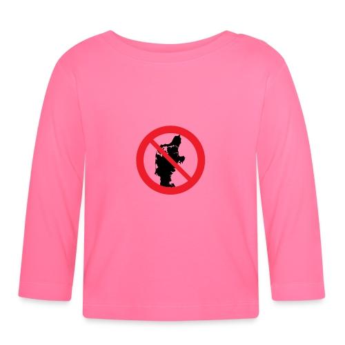 Jylland forbudt - Børnekollektion - Langærmet babyshirt