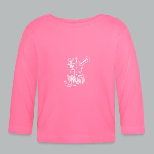 DFBM unbranded white - Baby Long Sleeve T-Shirt