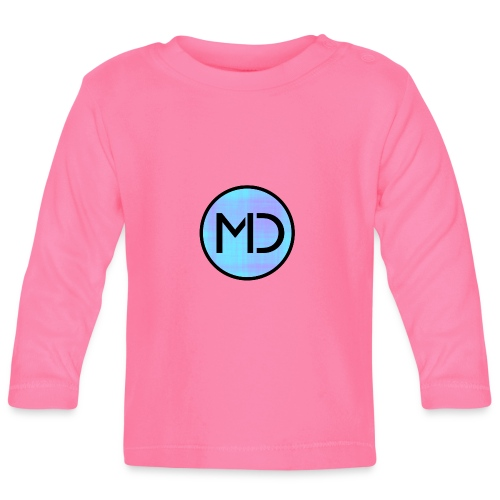 MD Blue Fibre Trans - Baby Long Sleeve T-Shirt