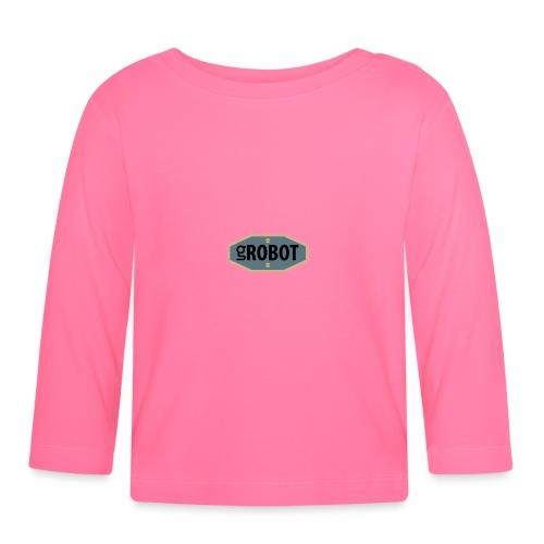 gRobot Logo - Maglietta a manica lunga per bambini