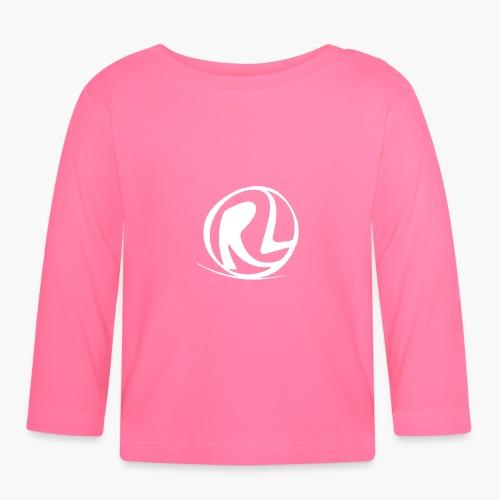 Uomo - Maglietta - Logo RL Bianco - Maglietta a manica lunga per bambini