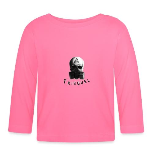 Trisquel Negro - Camiseta manga larga bebé