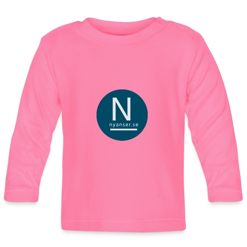 Nyanser.se ärm - Långärmad T-shirt baby