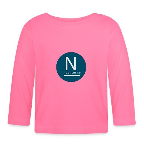 Nyanser.se mugg - Långärmad T-shirt baby