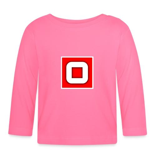 Vanlig Logo (tonåring) - Långärmad T-shirt baby
