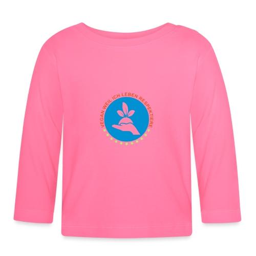 VEGAN - Baby Langarmshirt