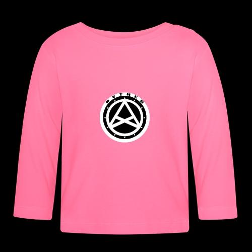 Nether Crew Black\White SnapBack - Maglietta a manica lunga per bambini