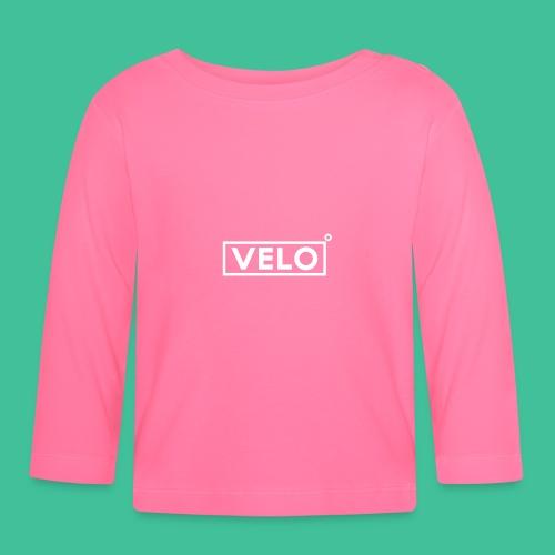 Velo Icon - Blk Track Jacket - Baby Long Sleeve T-Shirt