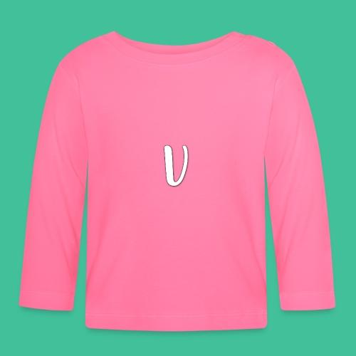 Velosity V Icon - T-Shirt Washed Burgundy Clr - Baby Long Sleeve T-Shirt