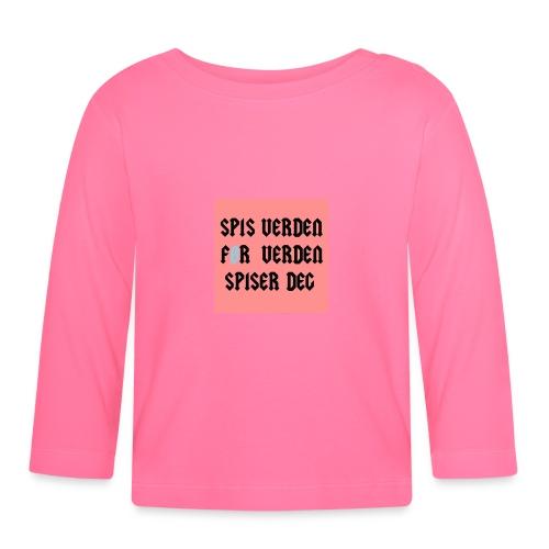 SPIS VERDEN - Langarmet baby-T-skjorte