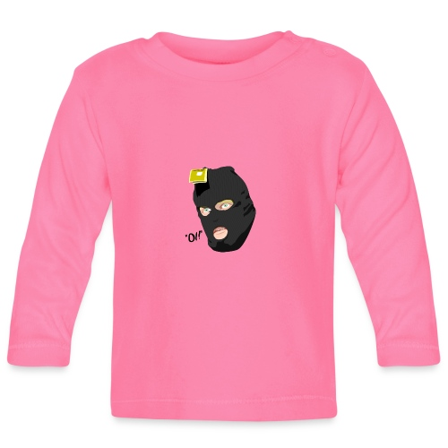 BLACK_CONDOM_SHIRT_PIC_1 - Langarmet baby-T-skjorte