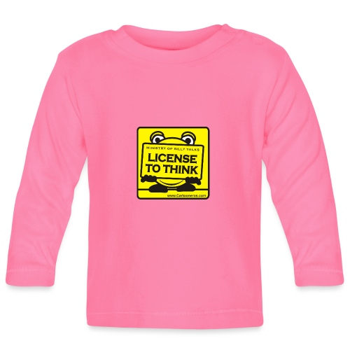 Licence to Think - Baby Long Sleeve T-Shirt