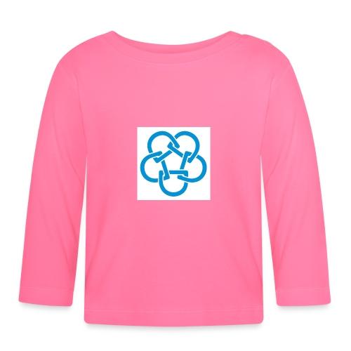 Diabetesf--rbundet_blomma__webb_pms - Långärmad T-shirt baby