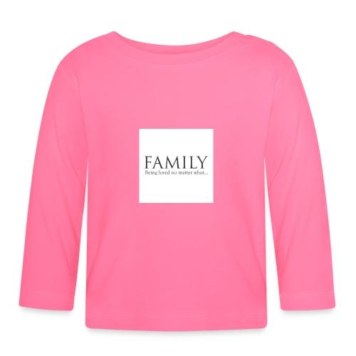 36d_family - Langarmet baby-T-skjorte