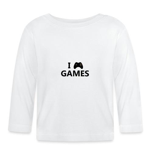 I Love Games 3 - Camiseta manga larga bebé
