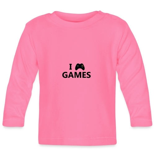 I Love Games 3 - Camiseta manga larga bebé