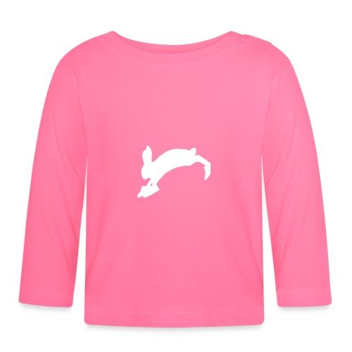 Bunny_Logo - Langærmet babyshirt