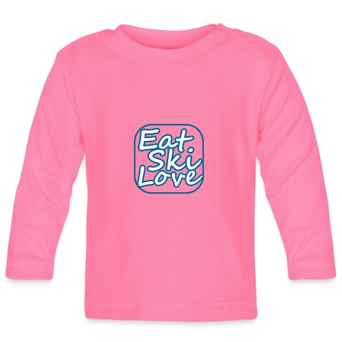 eat ski love - T-shirt