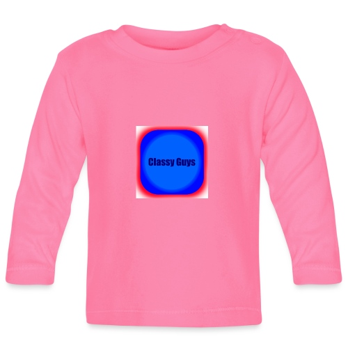 Blue and red logo - Baby Long Sleeve T-Shirt